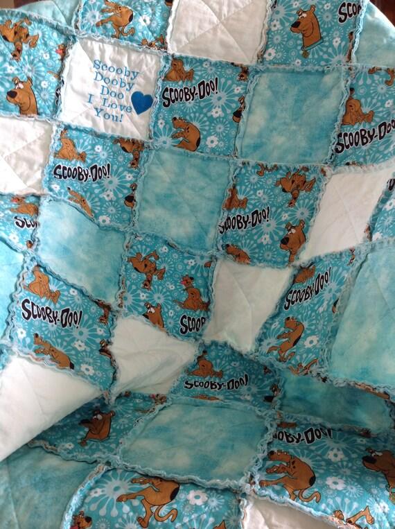 Handmade Baby Scooby Doo Quilt