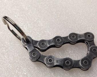 Recycled Bike Chain Key Ring