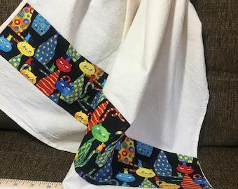 Cats Floursack Towel  28x28~