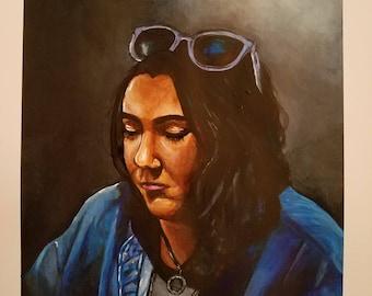 Custom Portrait from Photo- Art Commissions- Acrylic Portrait Painting- Family Portrait- Custom Painting -Custom Art Commission