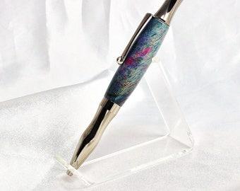 Virage Dyed Spalted Banyon wood Ballpoint pen