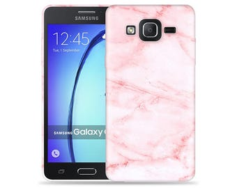 For Samsung Galaxy On5 Case - On 5 Case - SM-G5500 Case #Pink Marble Cool Design Hard Phone Case