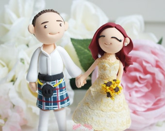 Custom Cake Topper-Irish traditional wedding