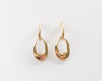 door knocker earrings | pierced earrings | gold earrings | statement earrings  | ABLE Shoppe