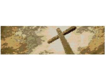 Peyote Bracelet At the Cross Tutorial
