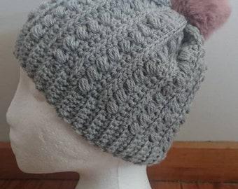 Crochet warm winter Beanie