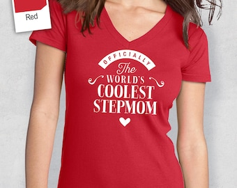 Cool StepMom, StepMom Shirt, Birthday Gifts! StepMom Gift, StepMom T-Shirt, StepMom Birthday Gift, StepMom Present, StepMom!
