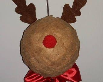 Boule Noël renne
