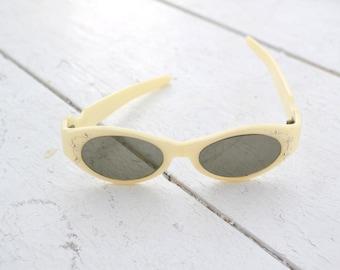 1950s Cool Ray Cream Sunglasses