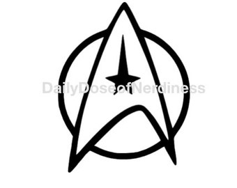 Star Trek Starfleet Decal