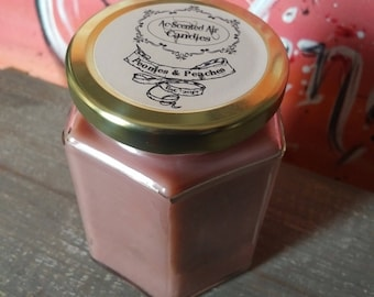 8 Oz Peonies & Peaches Scented Candle
