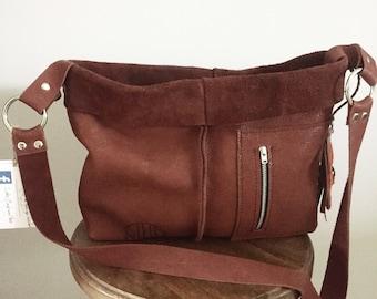 Brown Leather Shoulder Bag