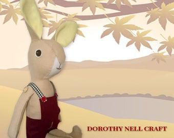 Kwiggly Wool Bunny
