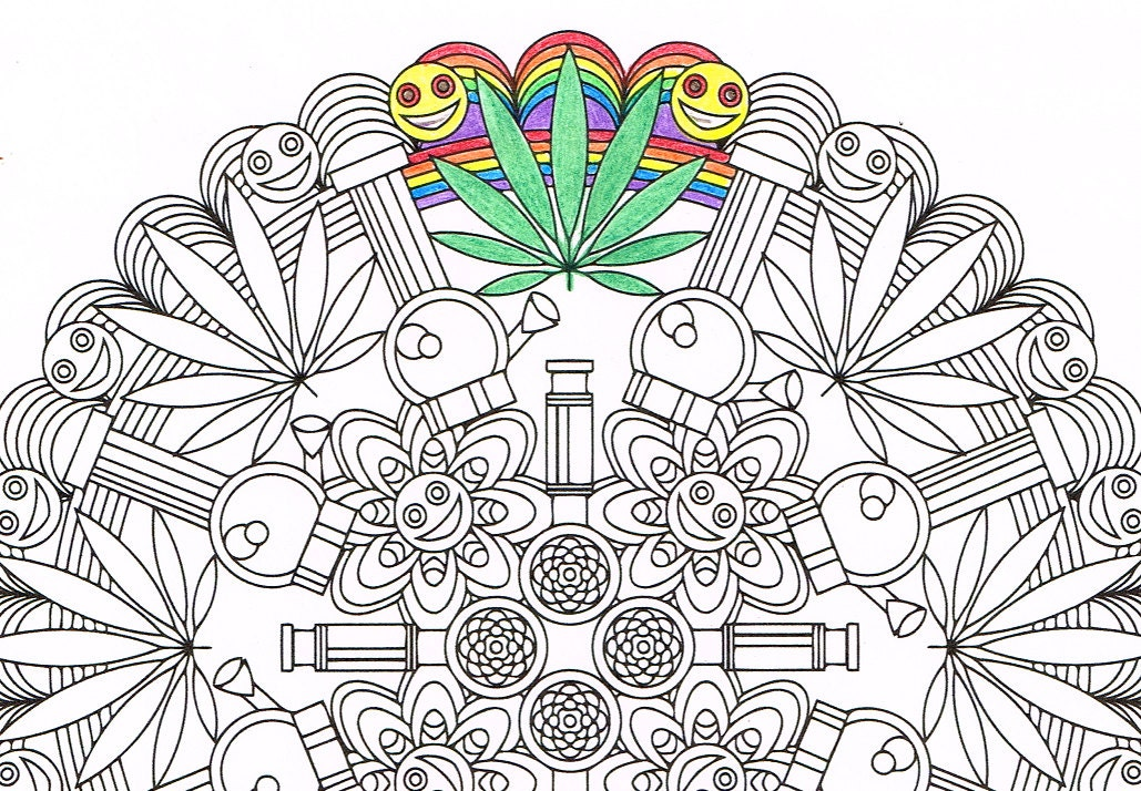 zoom - Mandalas Coloring Pages