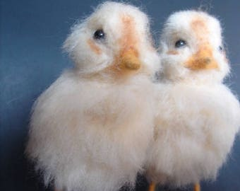 Needle Felted Chick, Felted Chick, Wool Felted Chick, Wool Chick, Chick, Peep, Needle Felted Peep, Easter Chick, Easter Peep