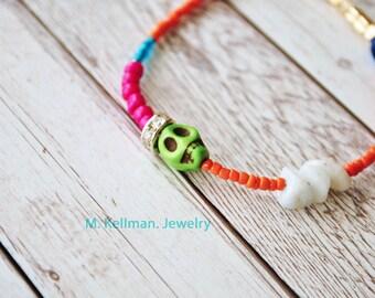 Random Bracelet #3, quirky jewelry, fun jewelry, mkellman jewelry