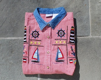 Vintage Nautical Top