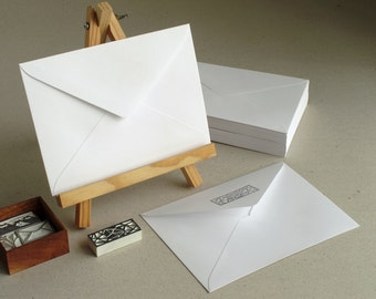 50 C6 Brown Kraft Envelopes triangle flap for A6 cards and Envelope Design House Within Hou E A on