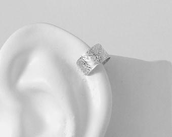 Cartilage Piercing, Helix Hoop, Hex Piercing, Upper Ear Conch Earring, Body Jewelry Tragus Rook Body Piercing Sterling Silver Forest  MCSSFP