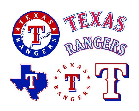 Texas Rangers Cut Files Texas Rangers Svg Files Texas