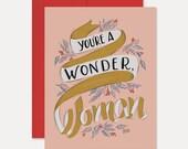 You're a Wonder, Woman - A2 Note Card - Box Set