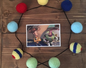Toy Story Knitted Bunting