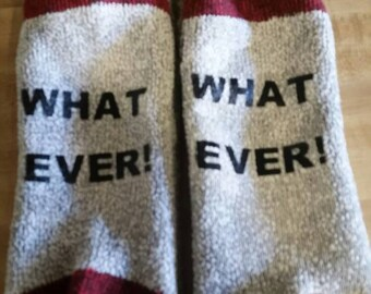 What Ever socks