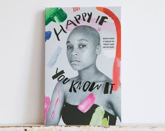 Book - Happy If You Know It - art + writing by women