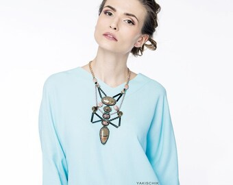 """Necklace """"Perfect lines"""""""