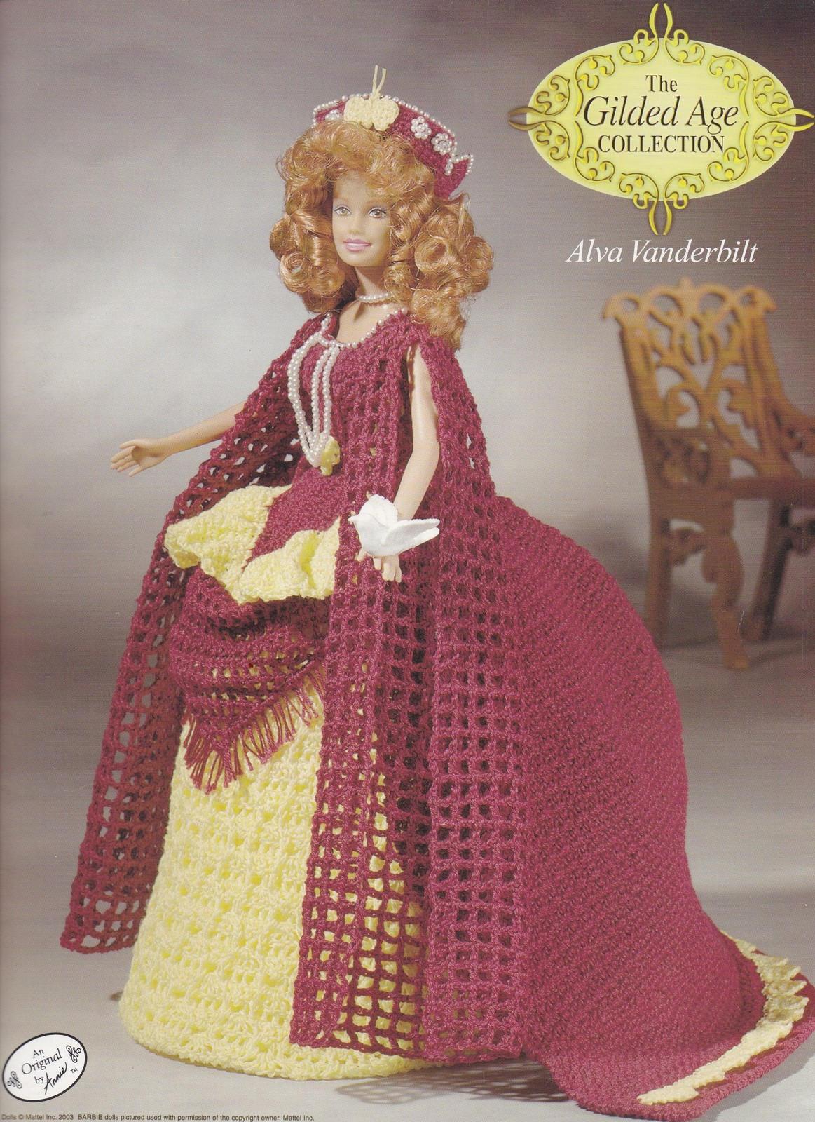 Alva Vanderbilt Annie Dachboden vergoldet Alter häkeln Mode