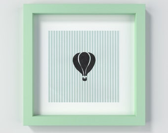Nursery Art Print, Nursery Art, Baby Gift, Nursery Decor, Balloon Print, Baby Boy, Baby Girl