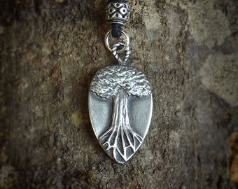 Pewter, Tree of Life Pendant