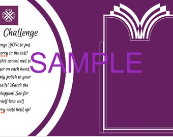 Jamberry 7 Day Challenge cards PRINTABLE