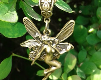 Bronze Fairy Necklace