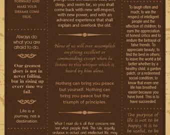 Ralph Waldo Emerson Quotes Poster - Customizable
