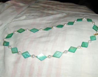 Mint Diamonds necklace