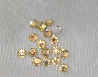 3,4 or 5mm rhinestone gems flatback round for crafts wedding party 2000/1000/500pcs