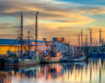 Commercial fishing boats