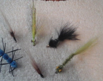 Fly Fishing Flies Set of 6