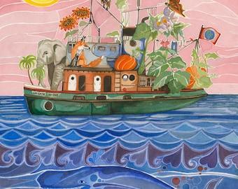 lyra's boat