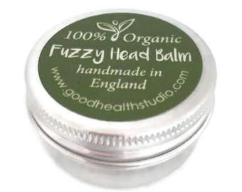 Headache Pain Relief, Migraine Relief. Natural Organic Balm, Chemical Free, 100% Pure, Aromatherapy Essential Oils, Lavender, Peppermint
