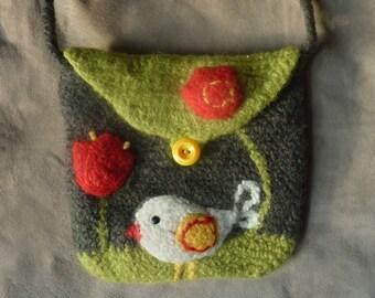 felted crochet purse pattern
