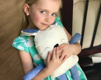Stuffed Rabbit / Easter Bunny / Kids Toy / Stuffed animal / Dog Toy