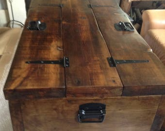 The Breton Chest/coffee table