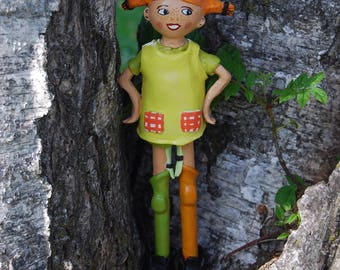 Pippi Longstocking Ton statue
