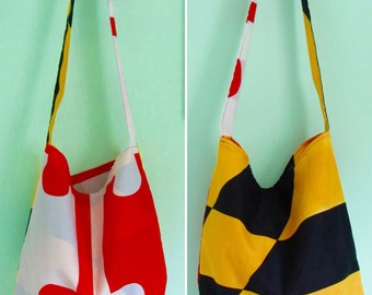 Maryland State Flag HoBo Bag
