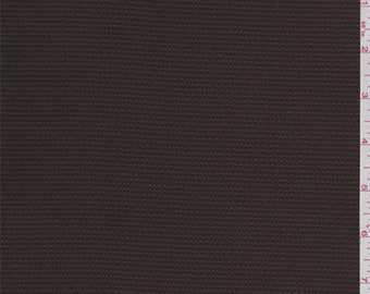 Brown Hammered Satin Charmeuse, Fabric By The Yard