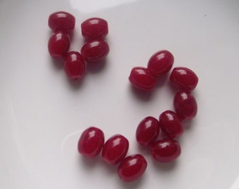 Destash Bead lot in reds