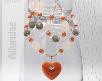 Jewelry Set | Necklace, Bracelet, Earrings | Ailuridae PG40230836