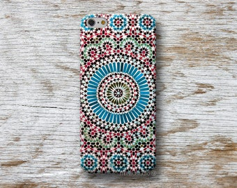Moroccan Tile Phone Case for iPhone 4 4s 5 5s SE 5C 6 6S 7 8 PLUS X iPod Touch 5 6 Oneplus 2 3 5 1+2 1+3 1+5